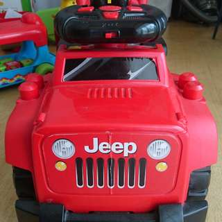 JEEP 3 in 1 Ride On
