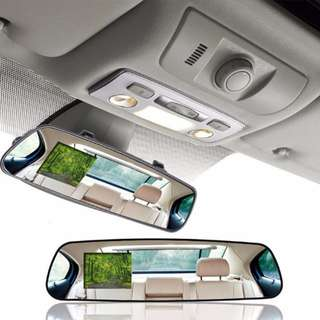 [SALE] Vehicle Car Camera Video Recorder Rear View Mirror Camcorder DVR