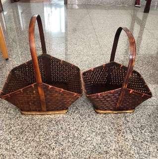 Hamper basket - 1 for $8 / 2 for $15