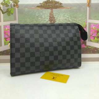 Louis Vuitton Toiletry Pouch Graphite Damier