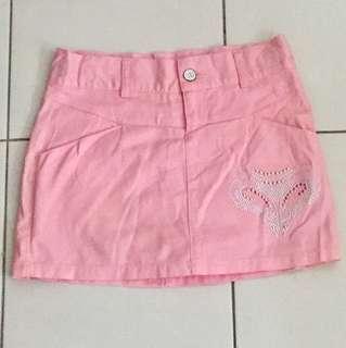 BN: OP Denim Adjustable Waist Skirt Short Pant Size 10