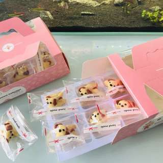 Puppy pineapple tarts 8 in a box