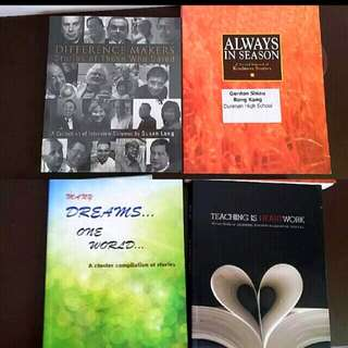 A Second Harvest Of Kindness Different Makers Stories Of Those Who Dared Always In Season Dunman High  High School Many Dreams One World Acluster Complilation Of Stories By Sg Pri School Teaching Is Hard Work reflections Of Beginning