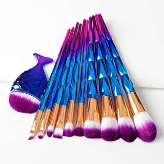 Mermaid brush set