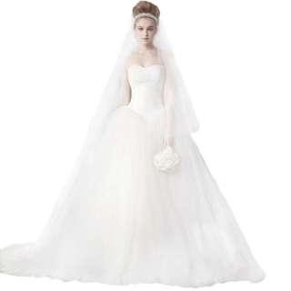白色華麗婚紗
