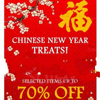 CHINESE NEW YEAR SALE!!! @jjyf78