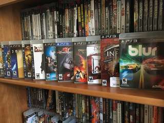 Used PlayStation3 Games