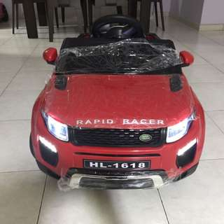 In stock Red Range Rover Kids Electric Car With Opening Doors