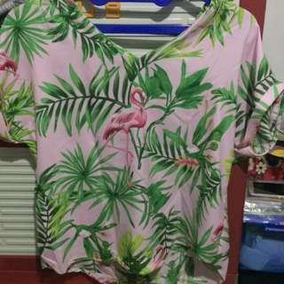 Atasan Flamingo