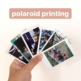 CHEAPEST POLAROID PRINTING