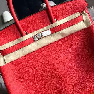 Available Hermes Birkin 35 Rouge Tomate