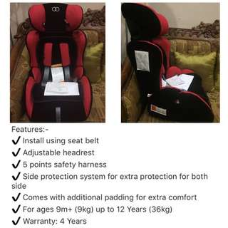 Koopers Sega Car Seat