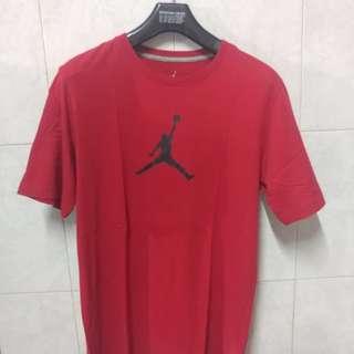 Kaos Air Jordan Merah Ori jordan( worn 1x)