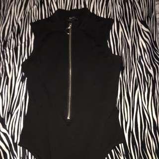 Bardot bodysuit