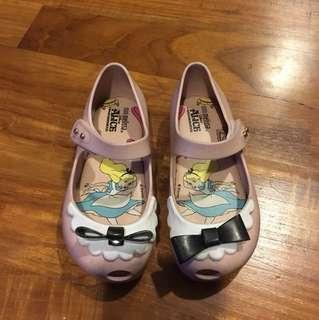 Mini Melissa Shoes Disney Alice in Wonderland