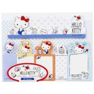 (Buy 5 Get 1 Free) Hello Kitty Cute Post It pad