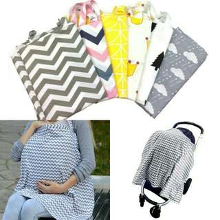 Breastfeeding / Pram / Stroller Cotton Cover
