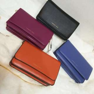 Original CHARLES & KEITH basic flap clutch