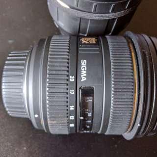 Sigma 10-20mm for Nikon