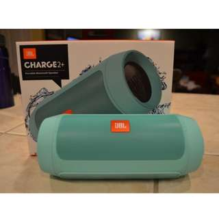 charge 2 plus green turquoise color jbl bluetooth speaker