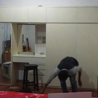 Kitchen Set Dan Lemari Pakaian Dgn Konsep Pesanan/Custom