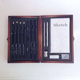 Typo Sketching/Pencil Set