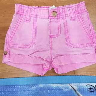 Baby pink short