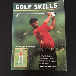 Pictorial Golf book for beginners