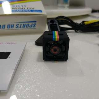 SQ11 Smallest Micro Camera 1080p DVR