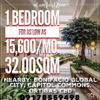 1 Bedroom near SM Megamall, Ortigas CBD and BGC