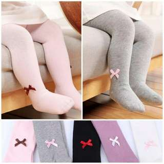 Baby Girl Footed Stockings
