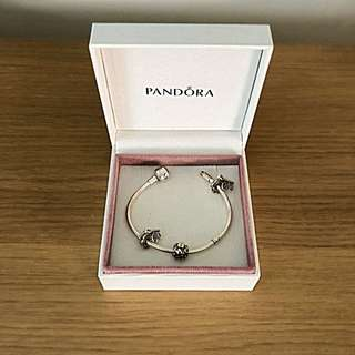 PANDORA Charm Bracelet - Sterling Silver