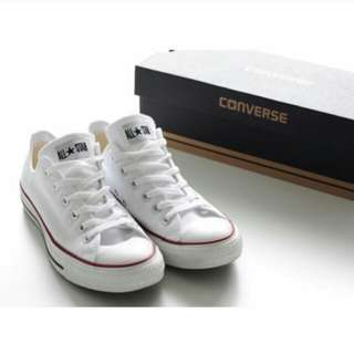 Converse All Star Low Classic White Rainbow Series