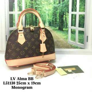Louis Vuitton Alma BB Monogram