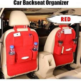 Car backseat organizer READY  Rm17(1pcs) Pos semenanjung rm8
