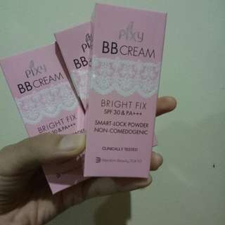Pixy BB Cream Bright Fix SPF 30 shade cream