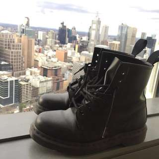 Dr Martens 1460 All Black Monochrome Limited Edition