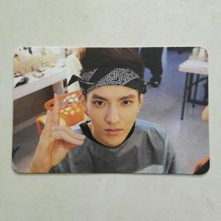 WTS RARE EXO KRIS GROWL PC