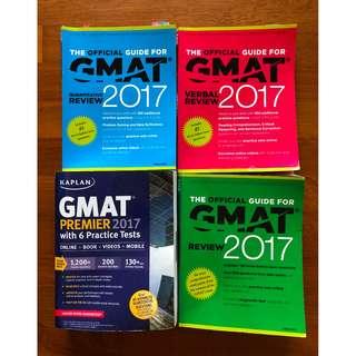 Kaplan GMAT Premier 2017 + Flashcards + GMAT Offical Guide 2017