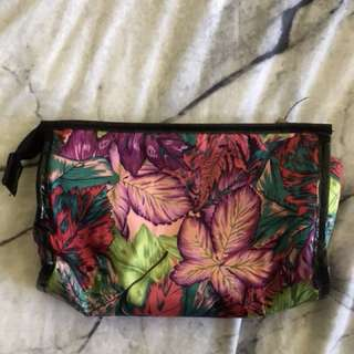 Tropical makeup case