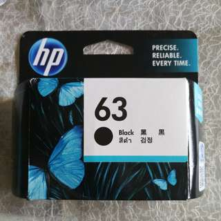 New HP Ink Cartridge 63