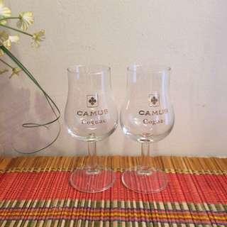 🆕1 pair Camus glass goblets