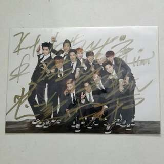 WTS EXO GROWL SIGNED PICTURE