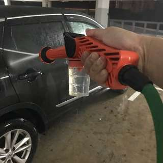 High Pressure Spray for car wash and garden with 25ft hose