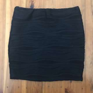Black skirt size 8
