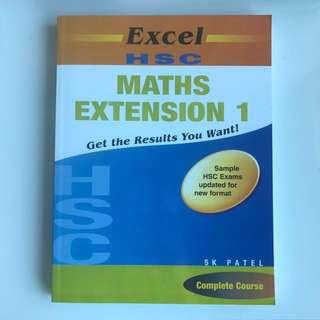 HSC Maths Extension 1 Excel