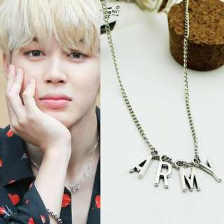 BTS Jimin ARMY Necklace