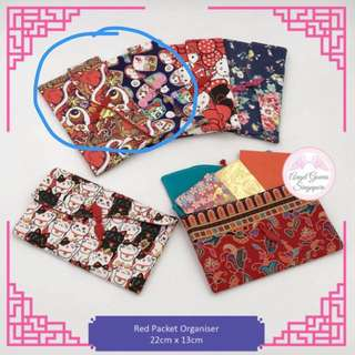[Selling out fast!] Hand-made Red Packet Organiser