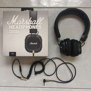 Authentic Marshall Major II Headphones