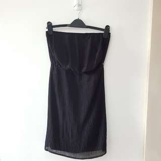Zara Black Tube Dress
